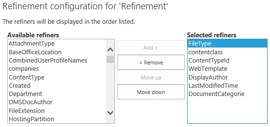 RefinementConfiguration1