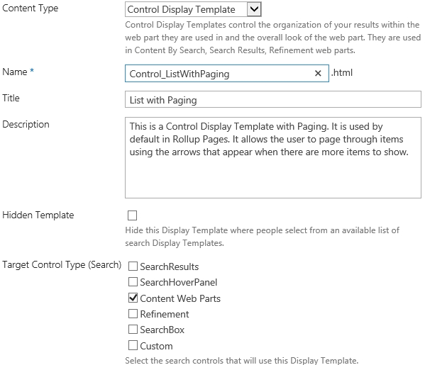 Sharepoint 2013 Custom Display Template For Content Search Web Part