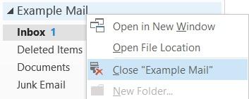 Close Site Mailbox